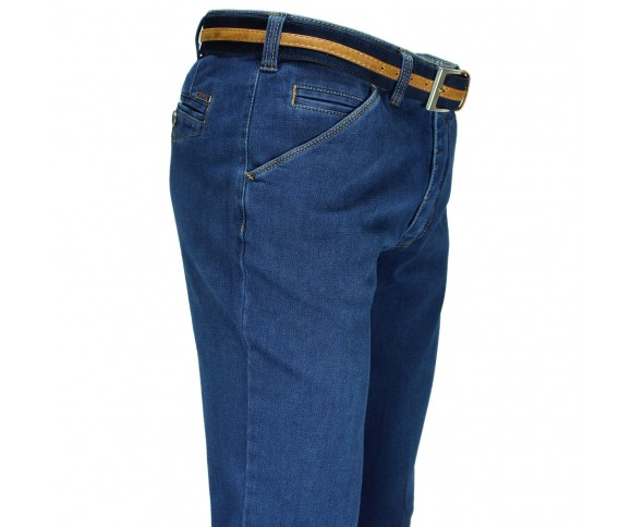 Meyer Modern Fit Jeans Stretch Blauw 2-4527/18 CHICAGO 326000095